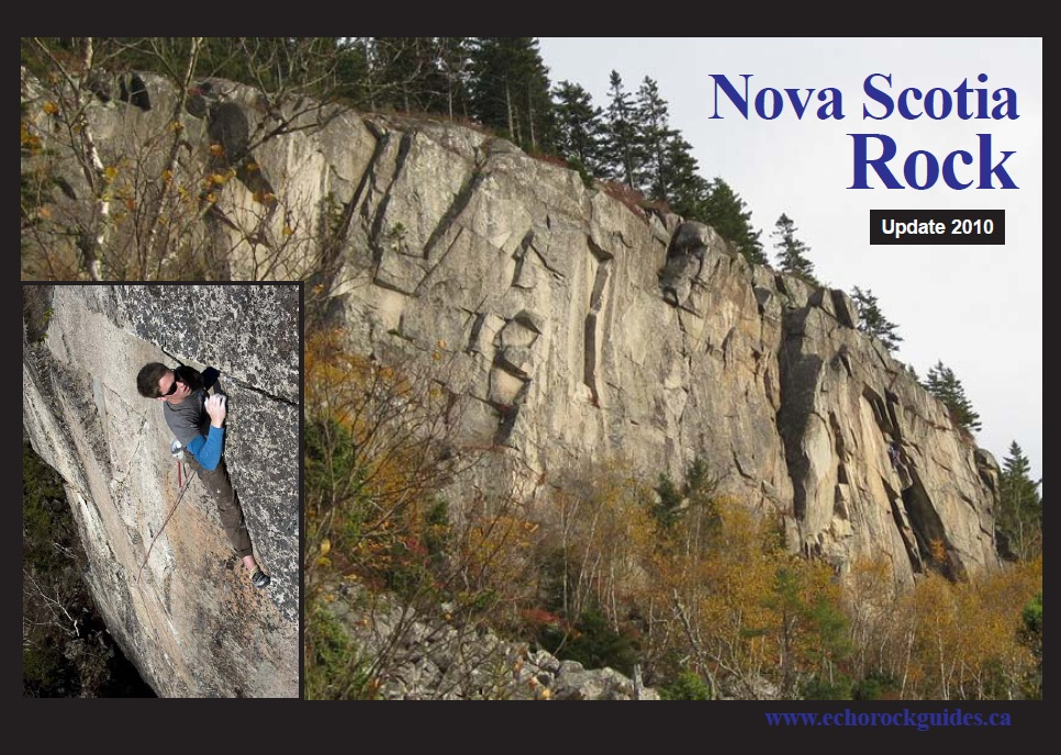 Nova Scotia Rock Guidebook Update