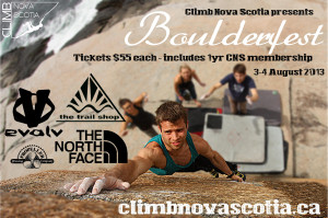 CNS Boulderfest 2013 tickets on sale now! Buy thru paypal today!
