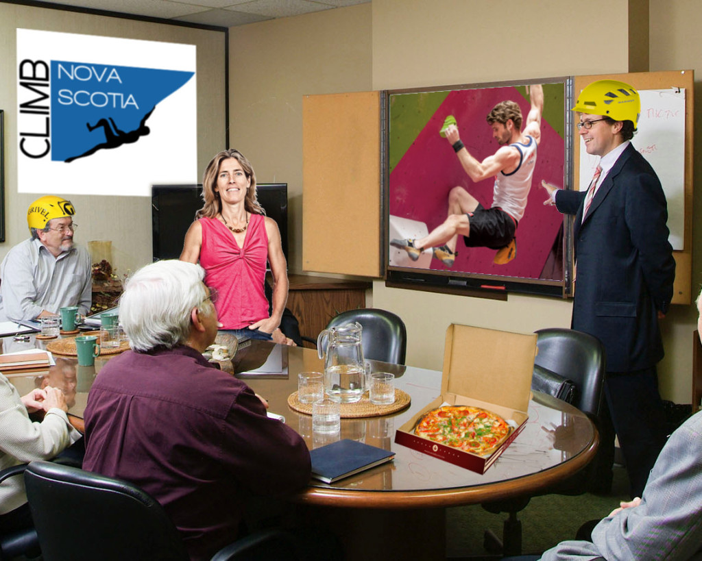 A typical CNS executive meeting