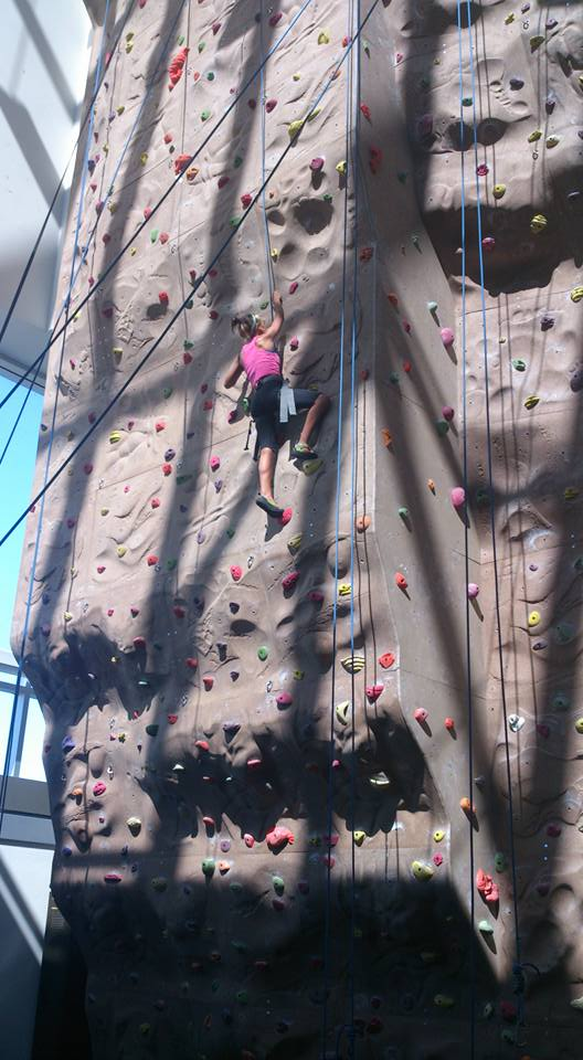 Scaling new heights thanks to their climbing programme
