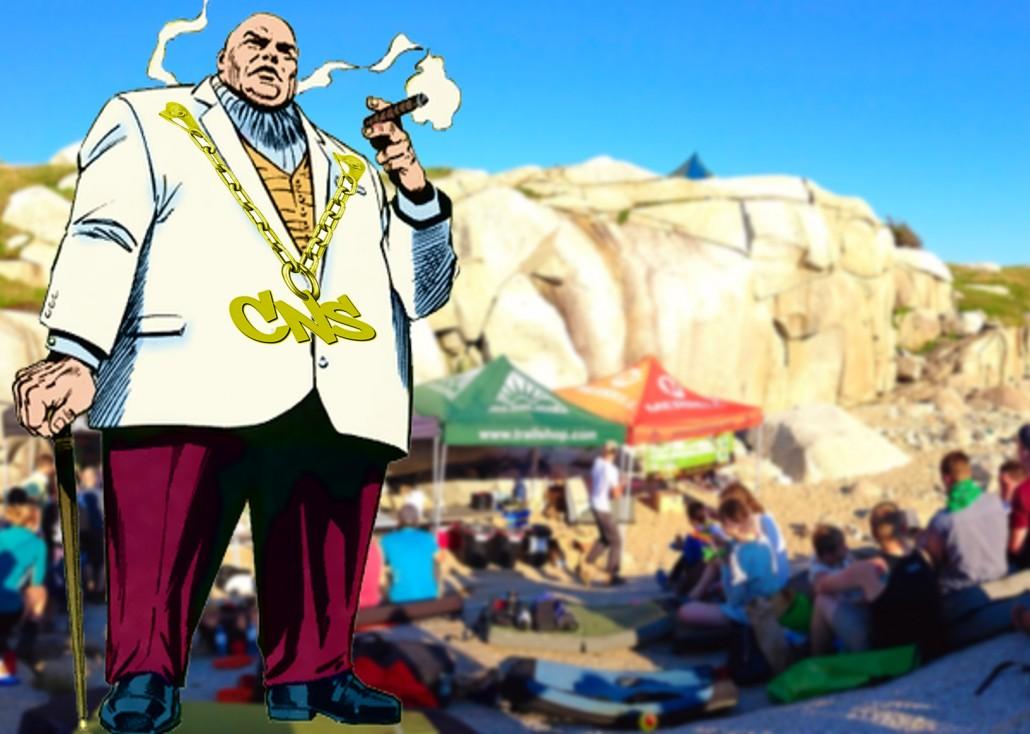 Boulderfest Boss (*artist's rendition)